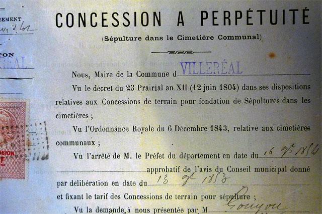 Dans les archives, les premières concessions enregistrées remontent au milieu du 19e siècle.| © Jean‐Paul Epinette ‐ iCimedia|Jean-Paul Epinette