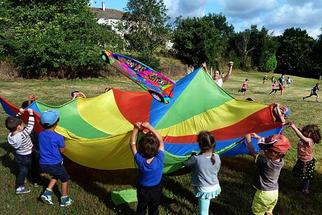 De la petite enfance aux adolescents, Vacances Nature propose des activités à près d'un demi millier de jeunes.|Photo Pierre-Antony Epinette - icimedia@free.fr