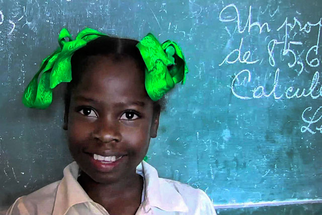 Pour que les écoliers d'Haïti retrouve l'espoir et leur sourire...|Photo Unicef