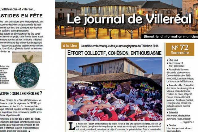 À la Une du numéro 72 du journal communal...|Photo © Jean-Paul Epinette - icimedia@free.fr