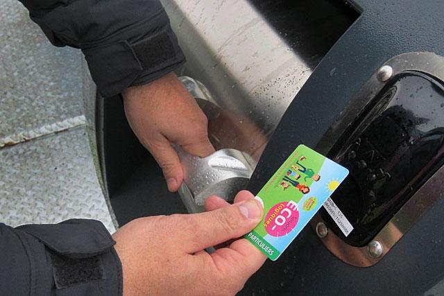 Il faudra un badge d'identification pour ouvrir les conteneurs et déposer sa poubelle.|Photo DR