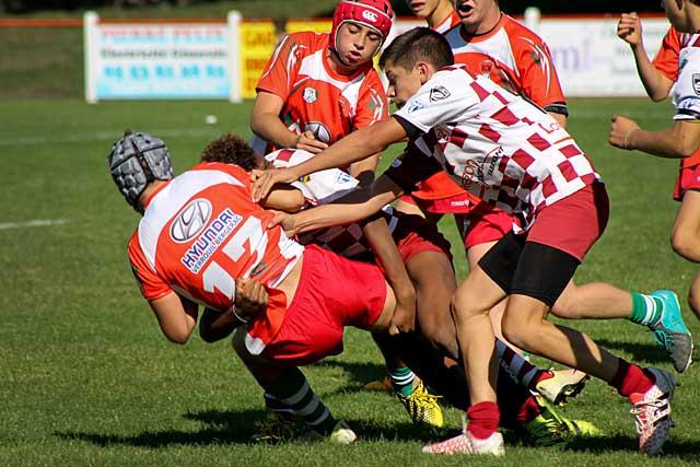 Cdets et juniors de l'Entente des Quatre-Cantons jouent ce samedi à Léo-Cheyrou.|Photo DR