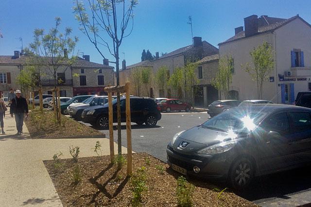 Les aménagements des espaces publics ont métamorphosé la bastide|Photo © Jean-Paul Epinette - icimedia@free.fr