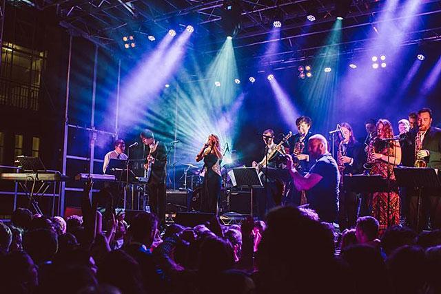 Le Big Band de l'Université de Leeds est mpercredi soir à Villeréal. Photo DR