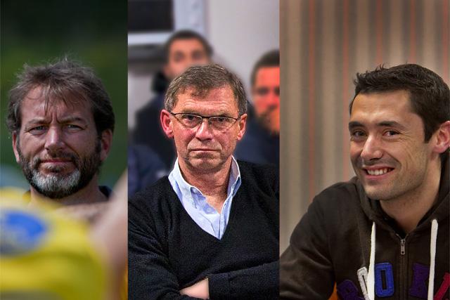 Les nouveaux présidents de l'USV Rugby : Nicolas Chenu, Arnaud Beuvin, Benjamin Mauvrit.|Photo Archive © jean-Paul Epinette - icimedia@free.fr