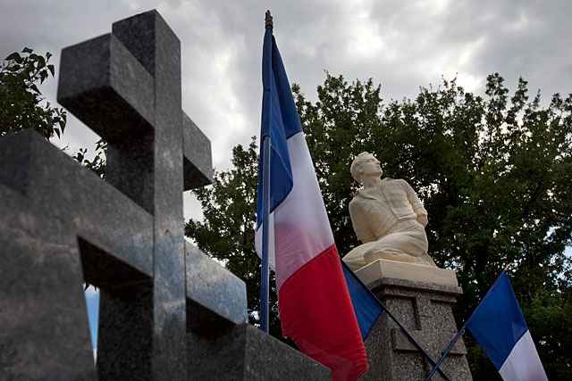 Le 14 juillet 1944, à Tourliac, onze résistants furent massacrés par les nazis...|Photo © jean-Paul Epinette - icimedia@free.fr