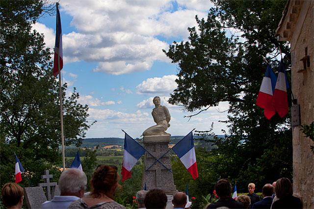 Le souvenir des résistants massacrés le 14 juillet 1944 demeure très douloureux...|Photo © jean-Paul Epinette - icimedia@free.fr