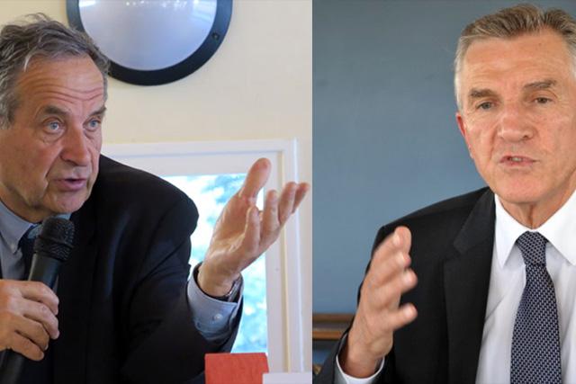 Henri Tandonnet et Pierre Camani vont quitter le Sénat.|Capture photo DR