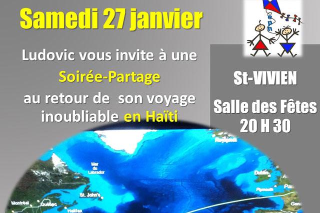 Soirée compte-rendu festive ce samedi soir à Saint-Vivien...|Illustration DR