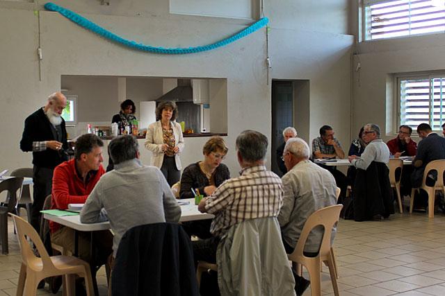 Les élus au travail sur le PLUi à St-Etienne de Villeréal|Archives © jean-Paul Epinette - icimedia@free.fr