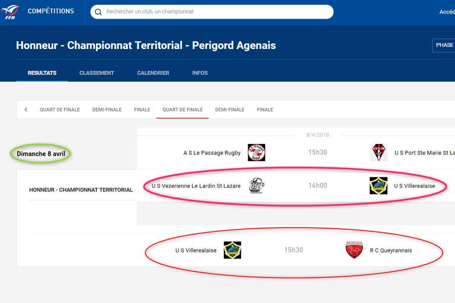 Bug sur la page P.-A. du site internet de la FFR...|Captures d'écran © jean-Paul Epinette - icimedia@free.fr
