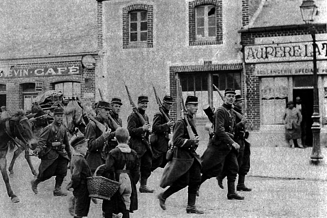 Trois hommes du Villeréalais tombèrent en Belgique dès le 22 août 1914.| Coll. particulière