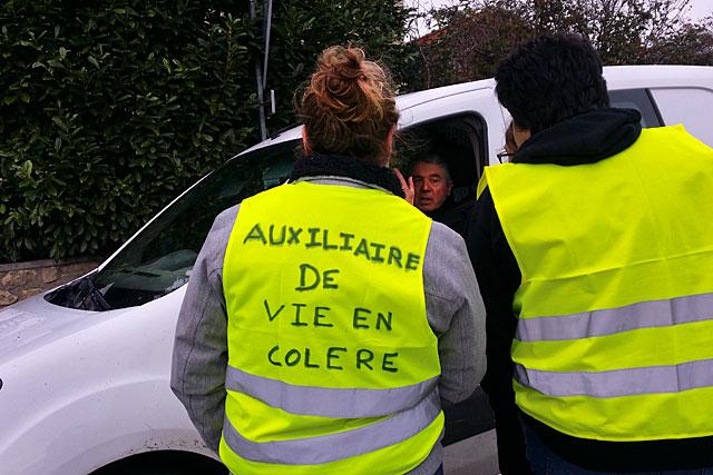 Une colère sourde - mais réelle - s'est fait entendre...|Photo © Jean-Paul Epinette - icimedia@free.fr