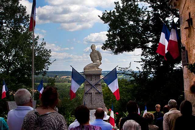 Tourliac, 14 juillet 1944, le martyr des onze résistants villeréalais débuta par le massacre de la sentinelle, Nathan Goldstein...... Photo © Jean-Paul Epinette - icimedia@free.fr