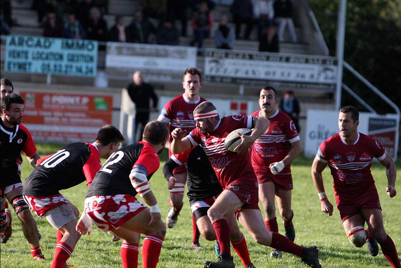 À l'image de Labarrière, l'USC a pris le match à bras-le-corps...|Photo © Jean-Paul Epinette.