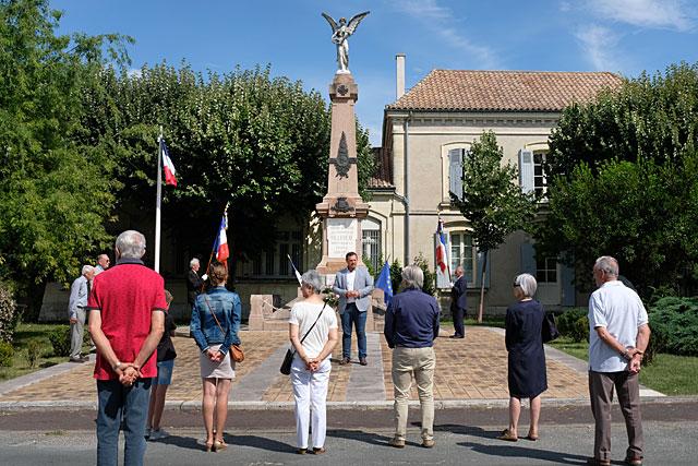 La Fête nationale a été célébrée en comité restreint, lutte contre la pandémie oblige...|Photo © Jean-Paul Epinette.
