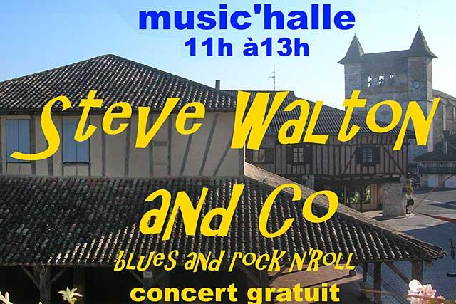 Concert gratuit, sous la halle, ce dimanche matin : ce sont les Matin'Halle des dimanches d'été...|Illustration DR