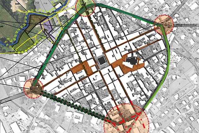 Un Plan-Guide a été établi pour servir de base à une réflexion collective...|Commune de Villeréal - DR
