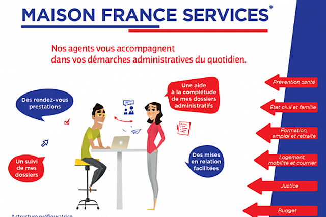 Rassembler les services au public en un même lieu...|– (Illustration DR)