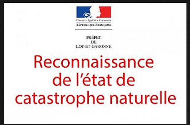 L'état de catastrophe naturelle a été déclaré pour les communes de Villeréal et Saint-Martin...|Illustration DR.