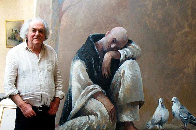 Le peintre Gilles Sacksick exposera cet été à Villeréal|| Photo DR
