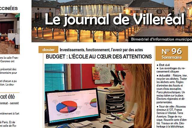 le dossier de ce N°96 est consacré au budget communal 2021...|| Photo © Jean-Paul Epinette