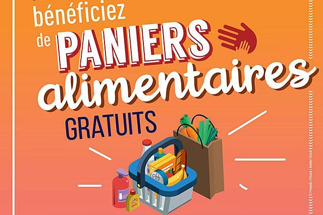 Dans le cadre des actions de solidarité liées au COVID-19, la Région distribue des paniers alimentaires pour les jeunes de 15 à 30 ans en difficulté. – (Illustration DR)
