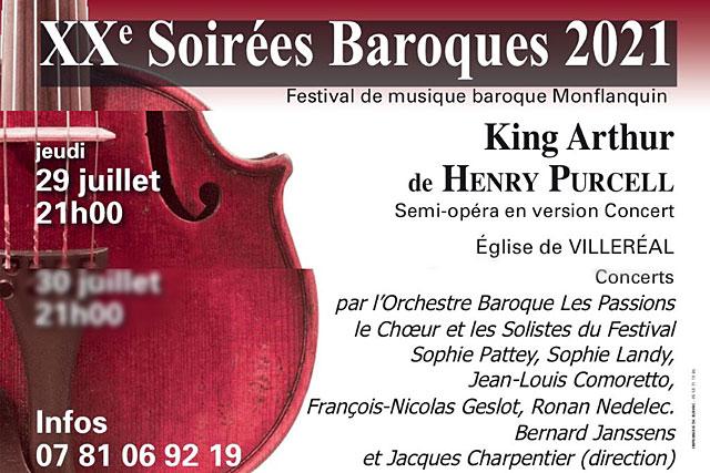 Cet avant-dernier concert des Soirées Baroques 2021 sera gratuit pour les moins de 20 ans... Illustration (DR.)