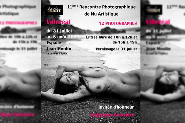 Consacrée au Nu artistique, FocaleNuArt a ouvert samedi à l'Espace Jean-Moulin...|Illustration (DR.)