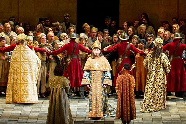 La saison du MetOp ouvrira le samedi 9 octobre avec Boris Godounov...   Photo © Metropolitan Opera
