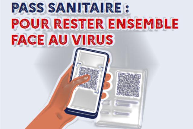 Depuis le lundi 9 août le Pass sanitaire est exigé pour les personnes majeures... Illustration Jean-Paul Epinette