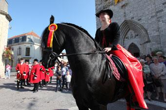 La Fête du Cheval de Villeréal, c'est ce week-end...|| Photo © Jean-Paul Epinette